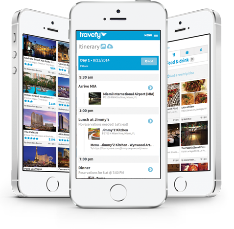 Travefy - Online & Mobile Group Travel Planner
