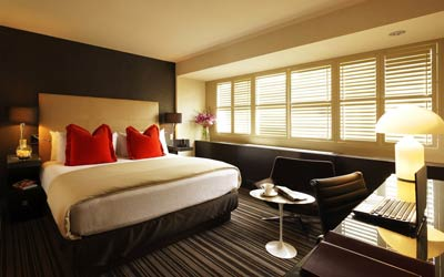 Beautiful, modern hotel room day spa deals