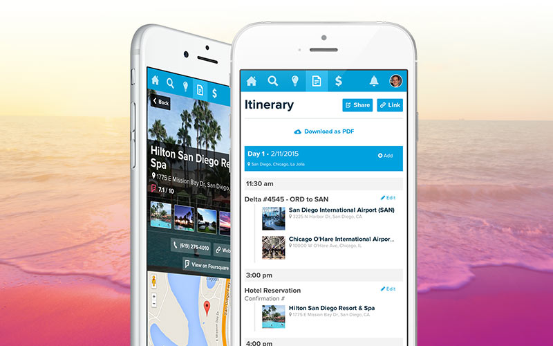 travel itinerary builder free online trip planner travefy