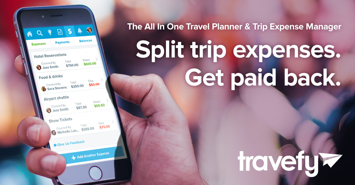 trip expense manager travel cost splitter travefy