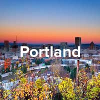 Portland Trees City Scape Instagram