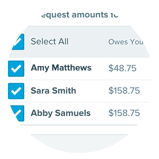 Collect money to split travel costs and track expenses.