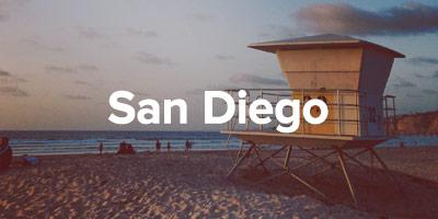 San Diego - sample itinerary