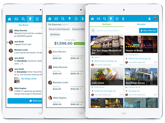 travel journey planner app travefy
