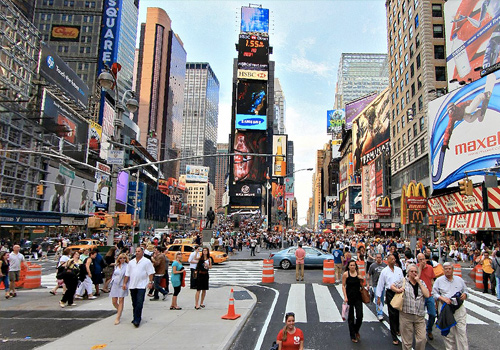 Nyc things to do free activities trip ideas travefy for Activities in times square